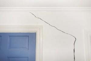 Cracks in Drywall above Door