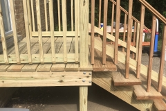 Back Stairs Makeover