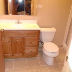 Basement Bathroom Remodel Vanity