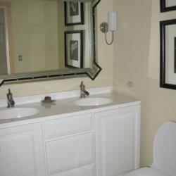 50's Bathroom Facelift After