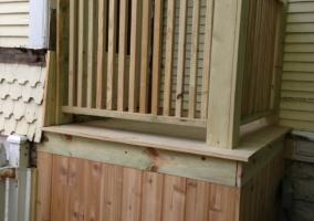 Porch Deck rebuild porch deck