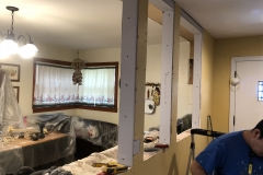Kitchen Wall Makeover
