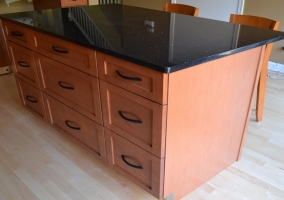 New Cabinets installation on Island