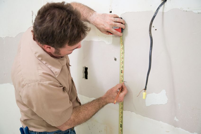 Measuring Drywall
